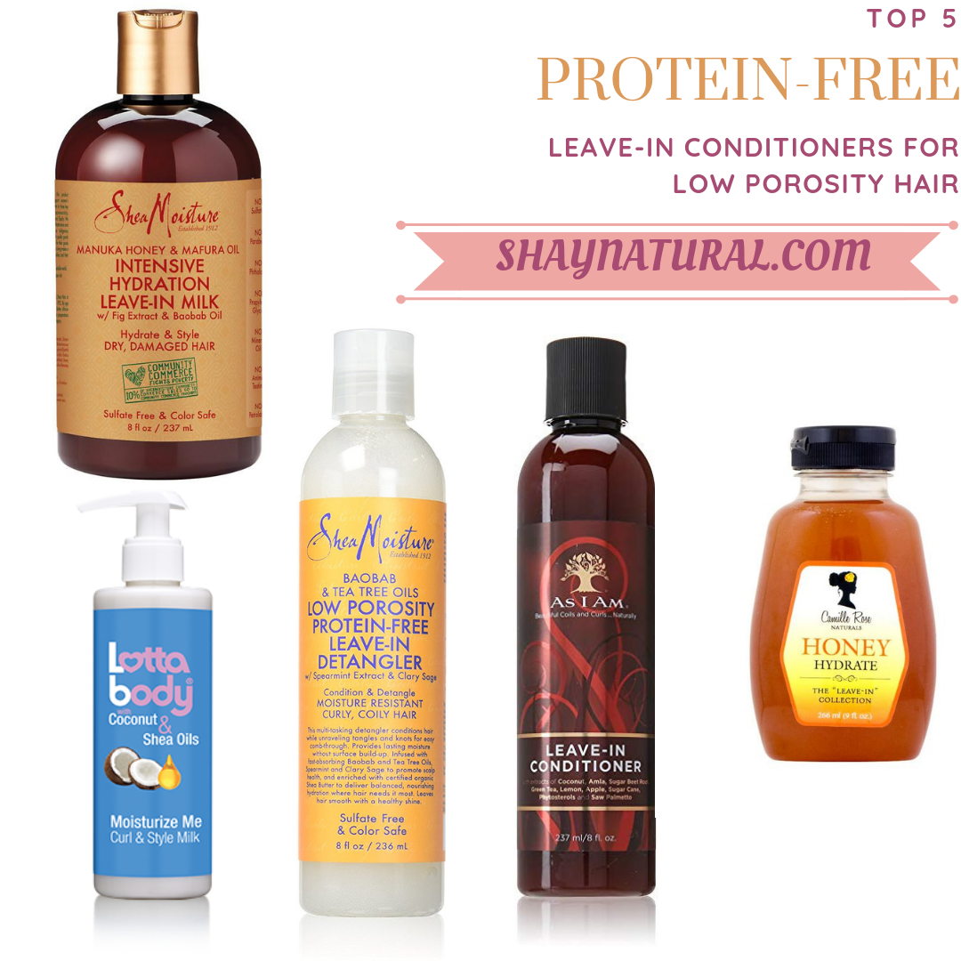 Conditioners for Low Porosity Hair